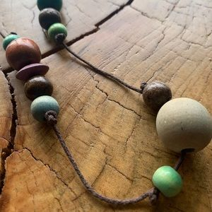 FREE ADD ON / VINTAGE / Necklace / Wooden Beads